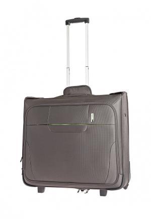 Дорожная сумка 64 л Antler. Цвет: серый