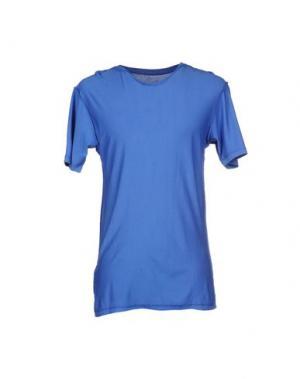 Футболка DOODSKI. Цвет: ярко-синий