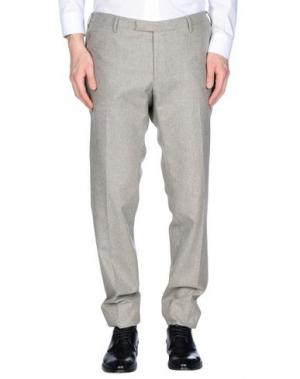 Повседневные брюки GERMANO. Цвет: голубиный серый