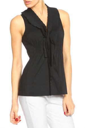 Блуза Marc Cain. Цвет: черный