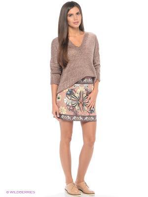 Пуловер Befree. Цвет: коричневый