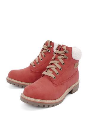 Ботинки LETMI. Цвет: розовый