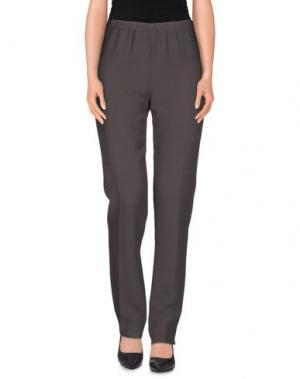 Повседневные брюки N_8. Цвет: свинцово-серый