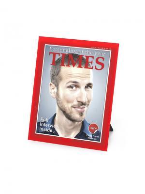 Фоторамка Times 15x20 Balvi. Цвет: красный