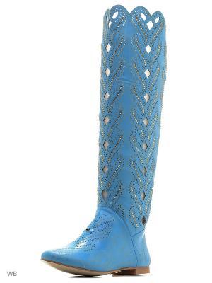Сапоги LINO MARANO. Цвет: голубой