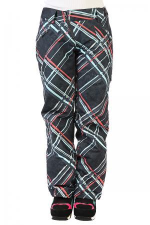 Штаны сноубордические женские  Resilient Pants Ombre Blue Oakley. Цвет: серый,мультиколор