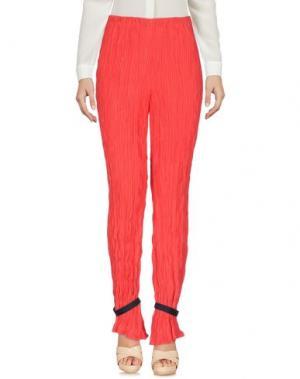 Повседневные брюки ALYX. Цвет: красный