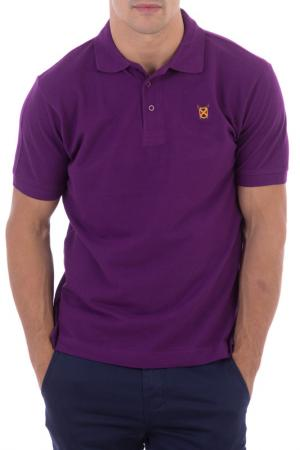 Рубашка-поло POLO CLUB С.H.A.. Цвет: фиолетовый