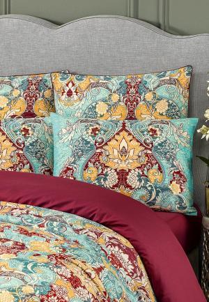 Комплект постельного белья Togas. Цвет: бирюзовый