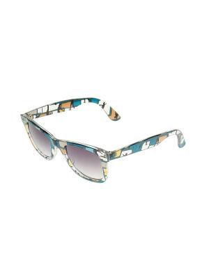 Солнцезащитные очки Migura. Цвет: бирюзовый, голубой, черный