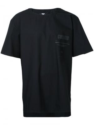 Tonal print T-shirt General Idea. Цвет: чёрный