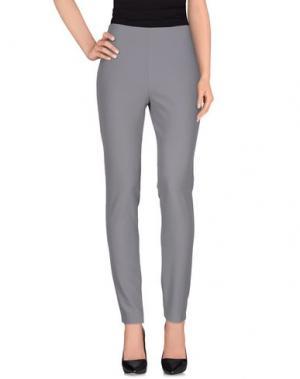 Повседневные брюки PAMELA MILANO. Цвет: серый