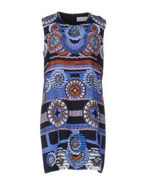 Платье до колена PETER PILOTTO. Цвет: синий