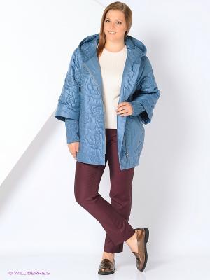 Куртка Lanicka. Цвет: серо-голубой