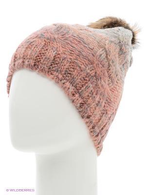 Шапка Parfois. Цвет: бледно-розовый, серый, бронзовый