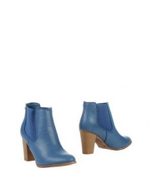Полусапоги и высокие ботинки XTI. Цвет: пастельно-синий