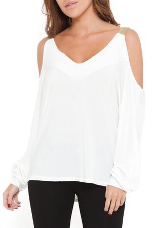 Блуза SHES SECRET SHE'S. Цвет: белый