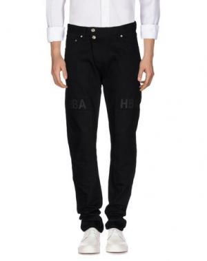 Джинсовые брюки HBA HOOD BY AIR. Цвет: черный