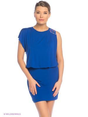 Платье Grishko. Цвет: синий