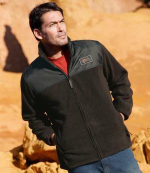 Флисовая Куртка «Экстрим» AFM. Цвет: черныи