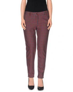 Повседневные брюки JO NO FUI. Цвет: красный