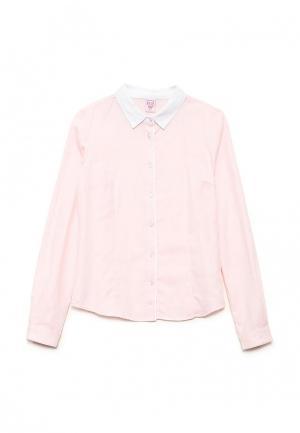 Рубашка Sela. Цвет: коралловый