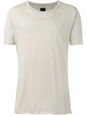 Классическая футболка Thom Krom. Цвет: телесный