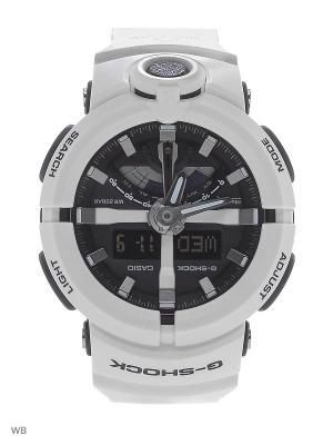 Часы G-Shock GA-500-7A CASIO. Цвет: белый