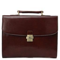 Портфель  7741 коричневый GERARD HENON