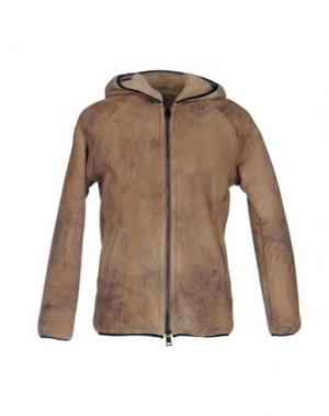 Куртка DACUTE. Цвет: верблюжий