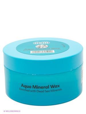 Воск для укладки волос Аква минерал вакс Mon Platin DSM. Цвет: голубой