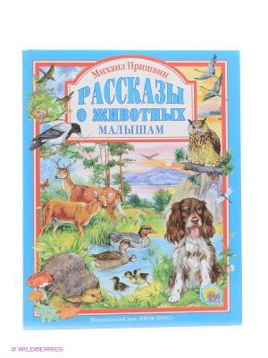 Рассказы о животных малышам Проф-Пресс. Цвет: голубой