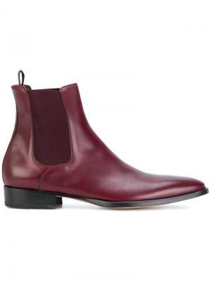Классические ботинки-челси Paul Smith. Цвет: красный