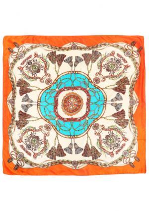 Платок Mellizos. Цвет: оранжевый