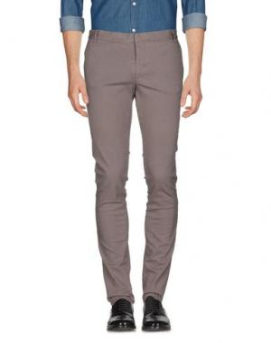 Повседневные брюки MC MASTER OF CEREMONIES. Цвет: серый