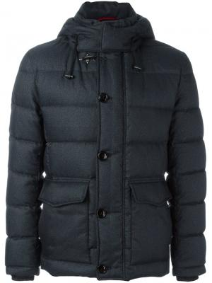 Стеганая куртка Fay. Цвет: синий