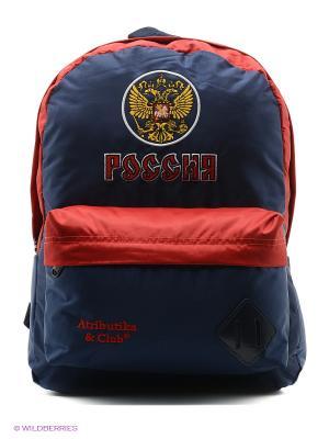 Рюкзак Россия Atributika & Club. Цвет: синий, красный