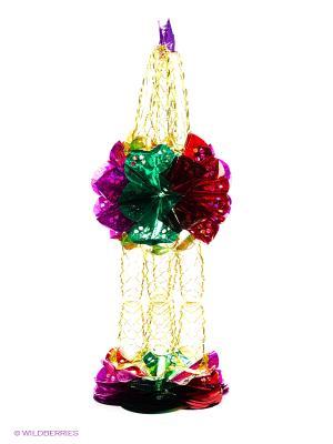 Гирлянда растяжка Шары 4 м, ширина 31 см Карнавал-Премьер. Цвет: зеленый, красный, желтый