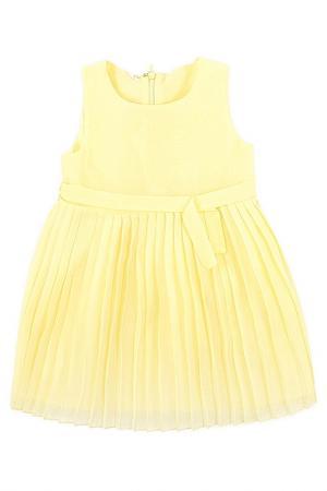 Платье Crockid. Цвет: бледно-лимонный