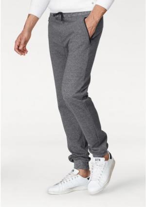Спортивные брюки JOHN DEVIN. Цвет: темно-серый/меланжевый