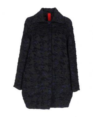 Пальто FEMME by MICHELE ROSSI. Цвет: черный