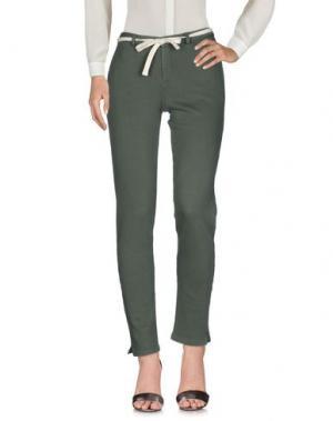 Повседневные брюки SUN 68. Цвет: зеленый-милитари
