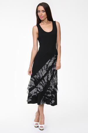 Платье Evalinka. Цвет: черный