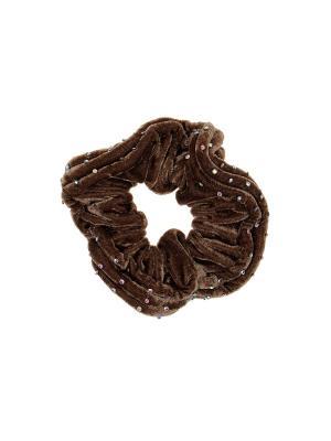 Резинка Infiniti. Цвет: коричневый