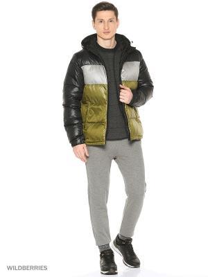 Пуховик DD70 CB JKT Adidas. Цвет: черный, серо-коричневый, серый