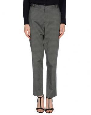 Повседневные брюки •MILANO PARIGI•. Цвет: зеленый-милитари