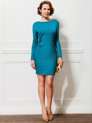 Платье La vida rica. Цвет: бирюзовый