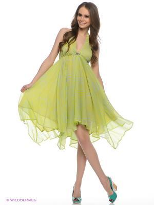 Платье TOM FARR. Цвет: салатовый, светло-голубой