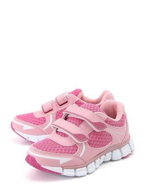 Кроссовки VivaKid. Цвет: розовый