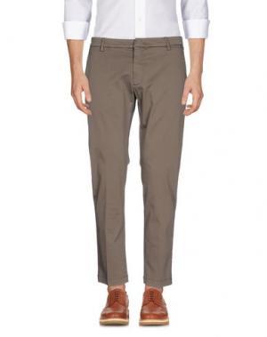 Повседневные брюки MICHAEL COAL. Цвет: хаки